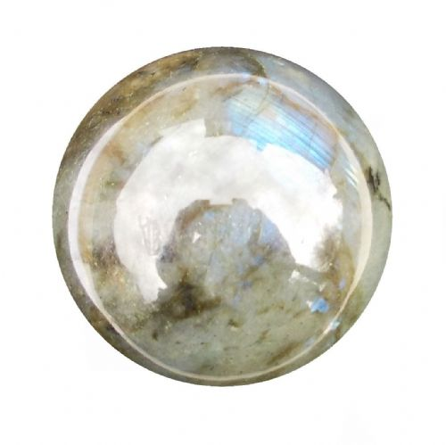 Labradorite Crystal Ball Scrying Divination Fortune Telling Sphere 55mm 240g LA4